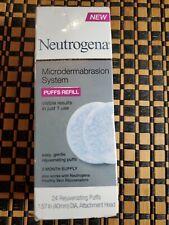 Neutrogena Microdermabrasion System Puff Refills 24 ct