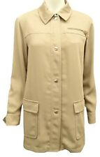 Hermes Button Down Long Sleeve Blouse