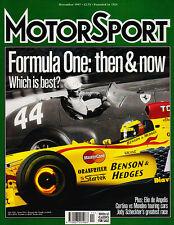 Motor Sport Nov 1997 - Race saloons Cortina vs Mondeo, Cooper, Elio de Angelis