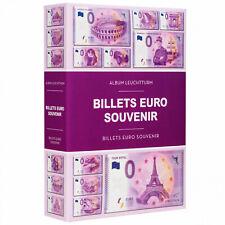 Album LEUCHTTURM pour 420 billets Euro Souvenir