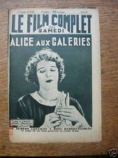 "Film Complet ""Alice aux Galeries"" Alice Day 1932"