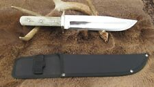 Hand Large Hand Made Bowie Knife, 1095 High Carbon Steel Blade