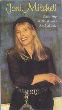VHS: JONI MITCHELL PAINTING WITH WORDS AND MUSIC