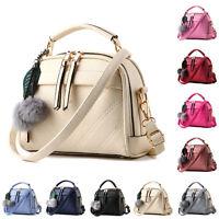 New Women's Handbag PU Leather Shoulder Party Bag Ladies Satchel Tote Purse Bags