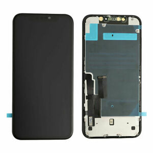 For iPhone 11 OLED LCD Touch Screen Digitizer Replacement + Back Plate Replace