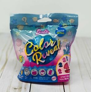 Barbie Color Reveal Mermaid Pet Series, Brand New Fun Surprise Reveal!
