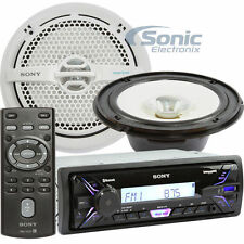 "Sony dxs-m5511bt Marine Digital Media Stereo mit 130w RMS 6.5"" Speaker Paar"