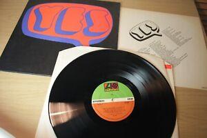 Yes/Yes Self Titled Gatefold K40034 Vinyl LP Album 1971 Reissue Ex/Ex + insert