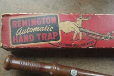 Vintage Remington Arms Target Thrower Trap Skeet Clay Pigeon Target Shooting
