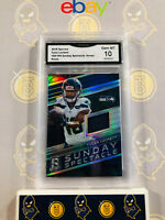 2018 Spectra Tyler Lockett 166/199 Sunday Jersey Spectacle Prizm 10 GEM MINT GMA