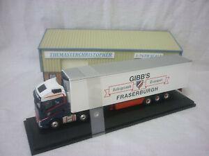 Oxford Diecast/Modern 1:76th Truck Volvo FH4 Fridge Gibbs 76VOL4011