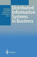 Distributed Information Systems in Business, , New Book