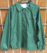 Yellowstone General Stores Windbreaker Jacket-L-Green-Mens-Button Up-Pockets-