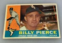 1960 Topps # 150 Billy Pierce Chicago White Sox Baseball Card