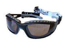 Bolle Tracker II 2 MTB Specs Safety Glasses Smoked Lens FREE BAG Anti Fog