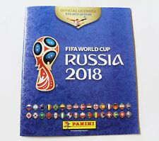 Stickeralbum Panini WM 2018 Russland + 6 Sticker Album Fussball WM Russia Leer