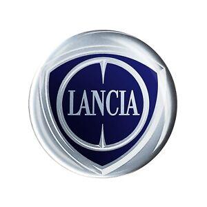 Adesivo Lancia 3D Ufficiale Logo 40 mm