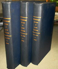1853-7 DOCUMENTARY HISTORY OF THE AMERICAN REVOLUTION 1764-1782 3 Vol Set Gibbes