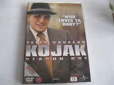 KOJAK - SEASON 1 - 6 disc set - Telly Savalas{DVD}