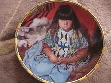 "Lenox ""Indigo Girl"" Children Of The Sun And Moon Plate By Dan Crowley, 8 1/4"""