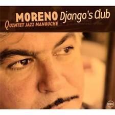 Moreno quintet JAZZ MANOUCHE-Django 's Club CD NEUF NEUF dans sa boîte