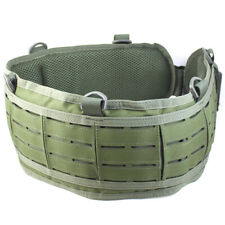 Bulldog MK3 Padded Military Army Tactical Modular Laser MOLLE Belt Olive Green