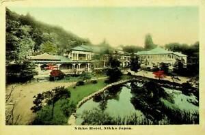 JAPAN 1912 PRE WWII 1½sn ON NIKKO HOTEL PPC TO YOKOHAMA