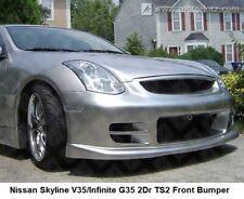 Aftermarket FRP Front Bumper Bodykit for Nissan Skyline V35 Infinite G35 2Dr