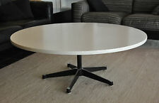 Herman Miller George Nelson 1960er coffee table/table basse ronde blanc