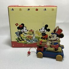 Enesco Disney Mickey & Co Mickey Mouse Playing Xylophone Figurine In Box