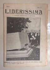 RIVISTA POLITICA LIBERISSIMA N.12 1910 FUTURISMO CAPRERA GARIBALDI FERRERO