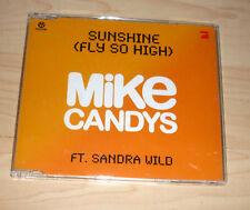 CD Maxi-Single - Mike Candys feat. Sandra Wild - Sunshine (Fly so high)
