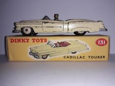 Boxed Dinky Toys Dinky 131 Cadillac Tourer Yellow Body, Red Interior, Cream Hubs