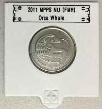 CANADA 2011 New 25 cents Orca Whale (BU directly from mint roll)