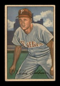 1952 Bowman Set Break # 53 Richie Ashburn VG-EX *OBGcards*