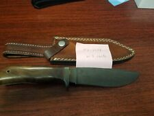 """Pioneer Custom Made Damascus Hunting Knife New With Brass Guard,10.5""""Pt-1396"""