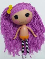 "Lalaloopsy Yarn Hair Doll Peanut Big Top Doll Full Size 12"" Purple Loopy Hair"