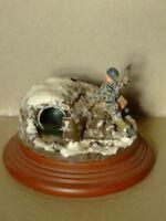 Diorama in resina da rifinire per modellismo scala 1:35 - Krea 7014
