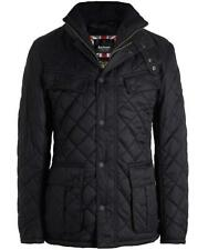 NWT  MEN'S  BARBOUR  INTERNATIONAL WINDSHIELD  QUILTED JACKET BLACK   NEW