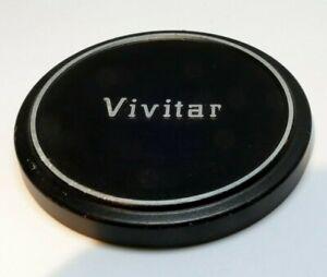 Vivitar 58mm Copri Obiettivo Cover Per Infilare Su Sopra Tipo Metallo