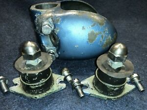 Evinrude Fleetwin 7.5hp 1956 Outboard Motor Parts Port & Starboard Cover & Mount