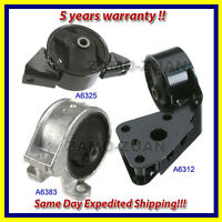 Engine Motor & Trans Mount Set 3PCS. 1991-1994 for Nissan Sentra 2.0L for Auto.