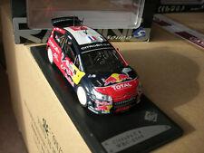 SOLIDO 1/43 CITROEN C4 WRC 2008 Corse de LOEB !!!!!!