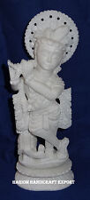 Marble Beautiful Krishna Statue Soap Stone Reglious Home Decor Religious Gifts