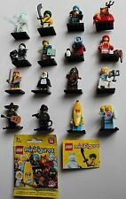 LEGO 71013 Minifigur - Serie 16 - alle 16 Figuren - neu - geöffnet