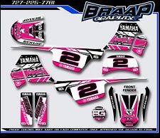 Yamaha PW-50 Braap Graphix Decals Graphics Kit Pink