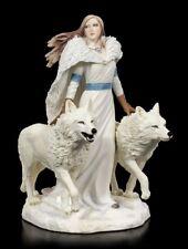 Figur Wolf Wächter - Winter Guardians by Anne Stokes -  Fantasy Gothic Deko