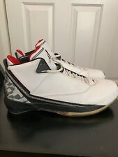 8559f64a7117 2006 Air Jordan 22 XX2 basketball shoes white varsity red 315299-161 Men sz