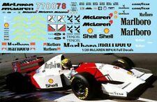 1/20 McLaren MP4/8 TAMIYA SENNA ANDRETTI HAKKINEN DECALS TB DECAL TBD68