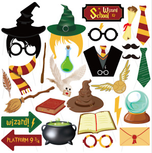 Harry Potter Dress Up Novelty Decorations Magical Wizard Props Party Kids Gift
